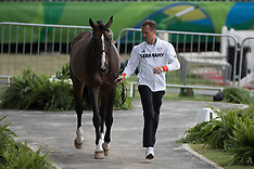 Horse inspection jumping - Rio 2016