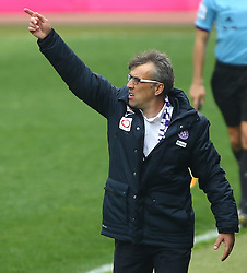 06.04.2014, Generali Arena, Wien, AUT, 1. FBL, FK Austria Wien vs SK Rapid Wien, 31. Runde, im Bild Herbert Gager, (FK Austria Wien, Trainer) // during Austrian Bundesliga Football 31st round match, between FK Austria Vienna and SK Rapid Vienna at the Generali Arena, Wien, Austria on 2014/04/06. EXPA Pictures © 2014, PhotoCredit: EXPA/ Thomas Haumer