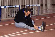 HRH Albert of Monaco, training in Louis 2 stadium  Monaco  Monaco        S.A.S. Albert de Monaco entrainement sportif dans le stade louis II  Monaco  Monaco   R00245/    L3201  /  R00245  /  P0005178