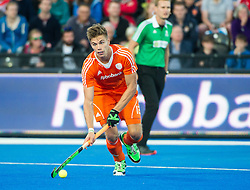 The Sander De Wijn. England v Netherlands  - Unibet EuroHockey Championships, Lee Valley Hockey & Tennis Centre, London, UK on 23 August 2015. Photo: Simon Parker