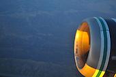 20110722 Sunset on Jet Engine