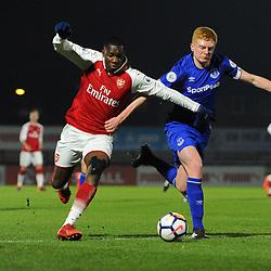 Arsenal v Everton |  Under 23 League | 5 February 2018
