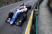 Sacha FENESTRAZ, FRA, Carlin Dallara-Volkswagen <br /> <br /> 65th Macau Grand Prix. 14-18.11.2018.<br /> Suncity Group Formula 3 Macau Grand Prix - FIA F3 World Cup<br /> Macau Copyright Free Image for editorial use only