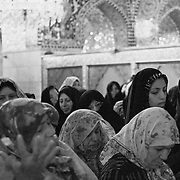 Women praying at the Sayyidah Ruqayya Mosque, Damascus