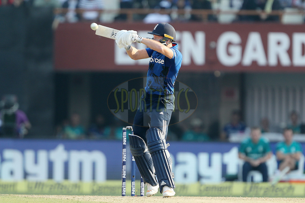 Jonny Bairstow of England during the third One Day International (ODI) between India and England  held at Eden Gardens in Kolkata on the 22nd January 2017<br /> <br /> Photo by: Ron Gaunt/ BCCI/ SPORTZPICS