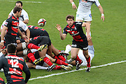 Luke Burgess in action for Toulouse. Stade Toulousain v Brive, 24eme Journee, Top 14. Stade Ernest Wallon, Toulouse, France, 21 Avril 2012.