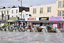 Water spouts, Southend-on-Sea, Essex UK