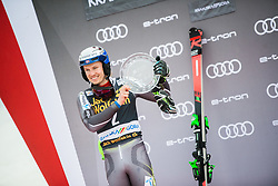 KRISTOFFERSEN Henrik of Norway celebrates during the Audi FIS Alpine Ski World Cup Men's Slalom 58th Vitranc Cup 2019 on March 10, 2019 in Podkoren, Kranjska Gora, Slovenia. Photo by Matic Ritonja / Sportida