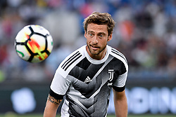 August 13, 2017 - Rome, Italy - Claudio Marchisio of Juventus during the Italian Supercup Final match between Juventus and Lazio at Stadio Olimpico, Rome, Italy on 13 August 2017. (Credit Image: © Giuseppe Maffia/NurPhoto via ZUMA Press)