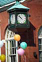 Historic Clock, Square, Market and Main Sts. Mechanicsburg, PA, Cumberland Co.