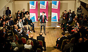 Rt Hon Ed Miliband MP<br /> Leader of the Labour Party <br /> speaking at Samaj Hall, Tooting, London, Great Britain <br /> <br /> 14th December 2012 <br /> <br /> One Nation Labour approach to Cultural diversity and integration in Britain <br /> <br /> <br />  with Sadiq Khan MP<br /> <br /> <br /> Photograph by Elliott Franks