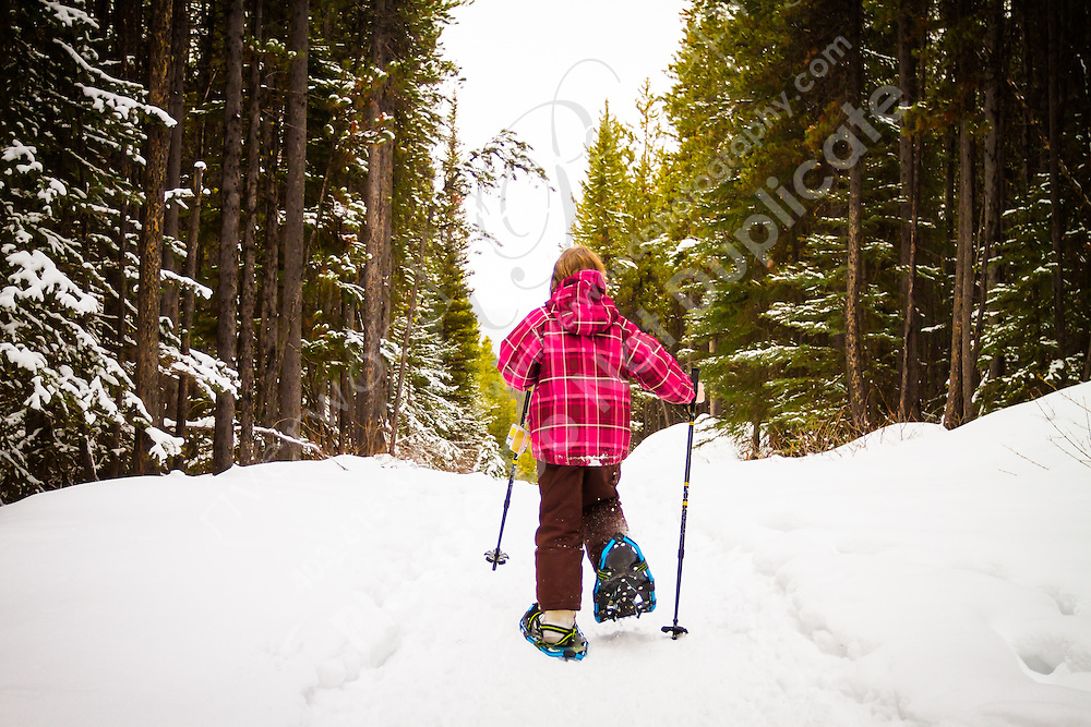 Snowshoeing the Penstock Loop in Peter Lougheed Provincial Park in Kananaskis Country<br /> <br /> &copy;2012, Sean Phillips<br /> http://www.RiverwoodPhotography.com