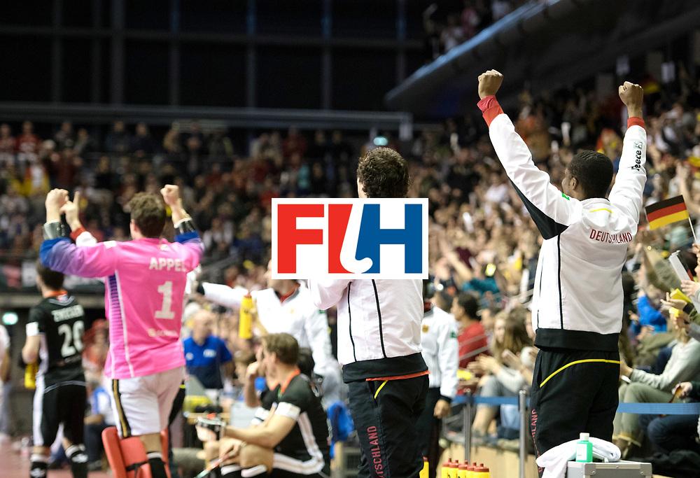 BERLIN - Indoor Hockey World Cup<br /> SF1 Germany - Iran<br /> foto:  <br /> WORLDSPORTPICS COPYRIGHT FRANK UIJLENBROEK