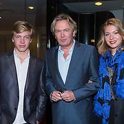 NLD/Leiden/20130930 - Premiere Garland, Tom Egbers en kinderen Amy en zoon Rik