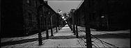 Il sistema di reticolato elettrificato del campo di Auschwitz I