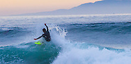 Surfers at Rincon Point, Santa Barbara County, California