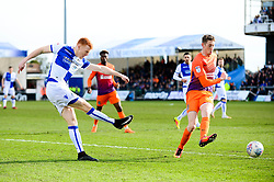 Rory Gaffney of Bristol Rovers takes a shot at goal - Mandatory by-line: Dougie Allward/JMP - 10/03/2018 - FOOTBALL - Memorial Stadium - Bristol, England - Bristol Rovers v Northampton Town - Sky Bet League One