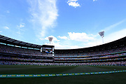 A general view of play during the Magellan fourth test match between Australia v England at  the Melbourne Cricket Ground, Melbourne, Australia on 26 December 2017. Photo by Mark  Witte.