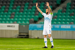 Bostjan Cesar during friendly football match between National teams of Slovenia and Belarus, on March 27, 2018 in SRC Stozice, Ljubljana, Slovenia. Photo by Ziga Zupan / Sportida