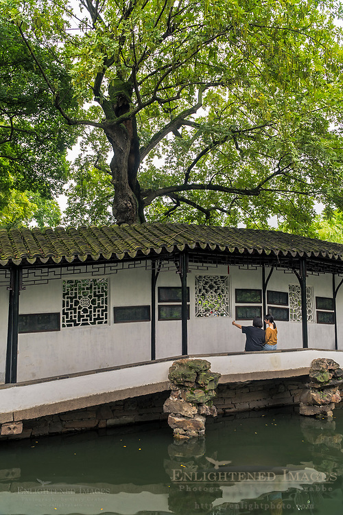 The Humble Administrator Garden, a UNESCO World Heritage Site, Suzhou, jiangsu Province, China