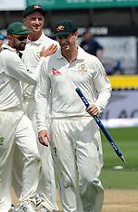 Wellington-Cricket, New Zealand v Australia, 1st test, day 4