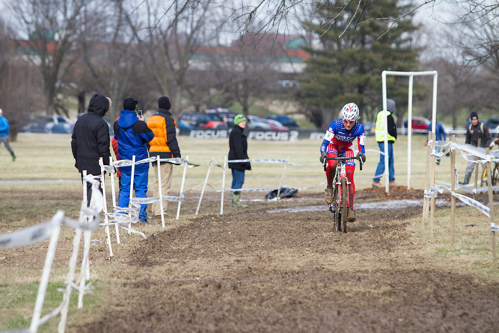 Sue Butler left chasing to the rest of the field, racing flawlessly.  ©Brian Nelson