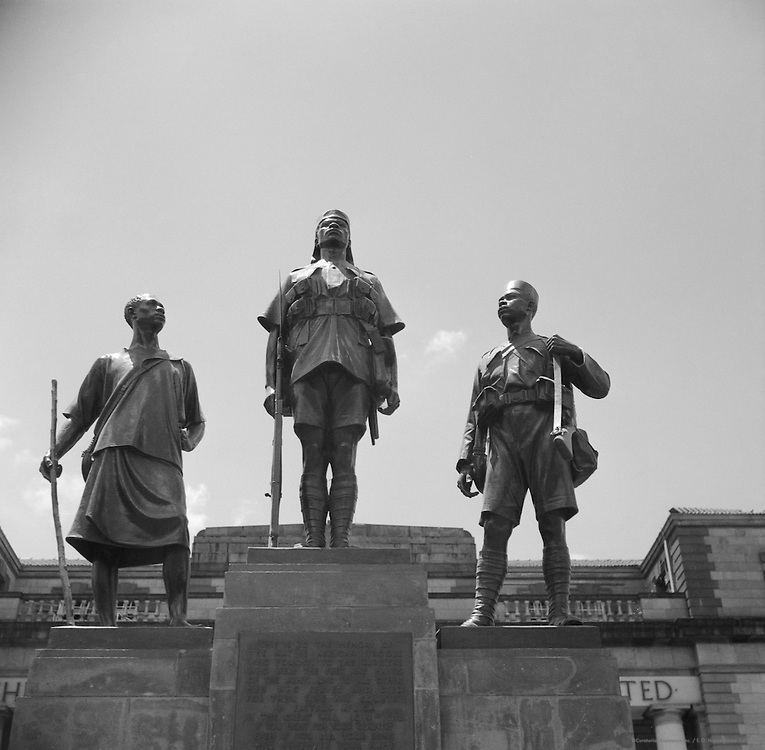 War Memorial to Askaris, Nairobi, Kenya, Africa, 1937