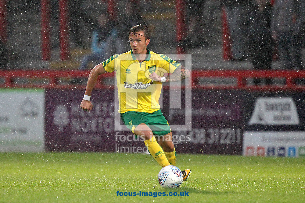 James Maddison of Norwich in action during the Pre-season Friendly match at the Lamex Stadium, Stevenage<br /> Picture by Paul Chesterton/Focus Images Ltd +44 7904 640267<br /> 11/07/2017