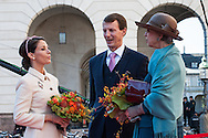 04.10.2016. Copenhagen, Denmark.  <br /> Princess Marie, Prince Joachim, Princess Benedikte attended the opening session of the Danish Parliament (Folketinget) at Christiansborg Palace in Copenhagen, Denmark.<br /> Photo: &copy; Ricardo Ramirez