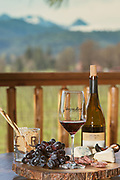 Augustino Vineyard and Rock N R ranch in the Illinois Valley, Oregon
