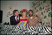 PAUL SEVIGNY; HOLLY DUNLOP; LUCIEN SMITH;, Sotheby's Frieze week party. New Bond St. London. 15 October 2014.