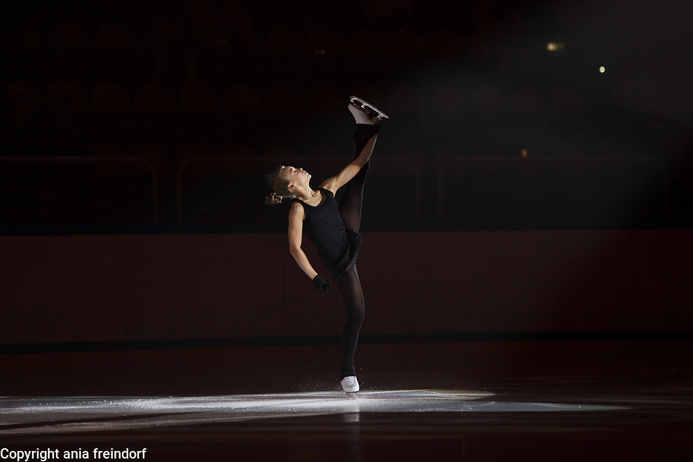 International Ice Skating Gala, Courchevel, France, 20 July 2017, Anastasia Gubanova, Member of National Team, Russia, 2 gold medals Grand Prix ISU Junior 2016 and 2017, Silver Medal Grand Prix ISU Junior,