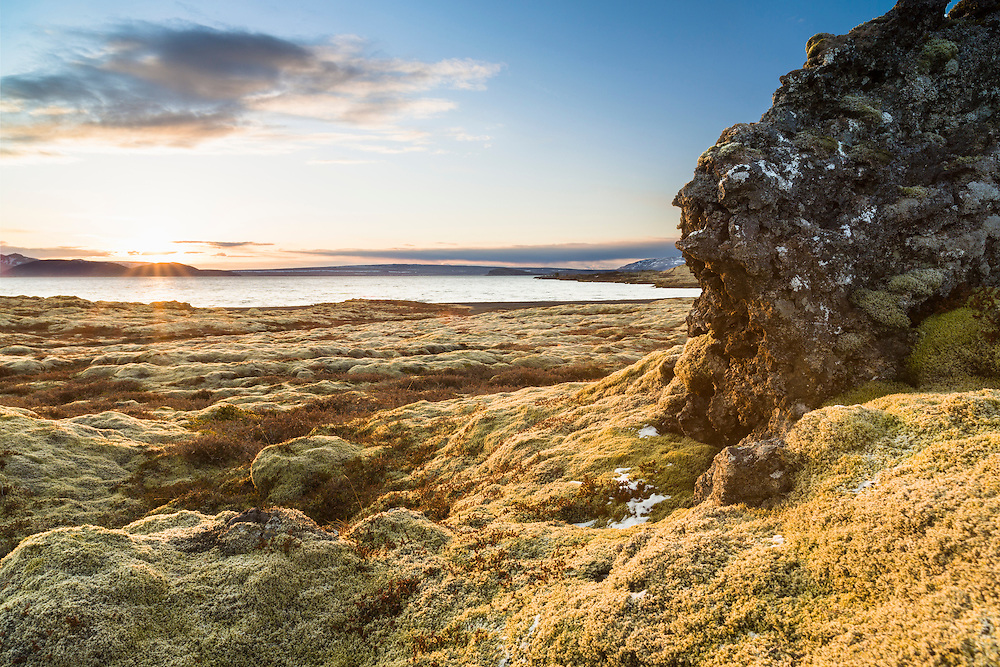 The First Day of Summer in Þingvellir, Iceland.