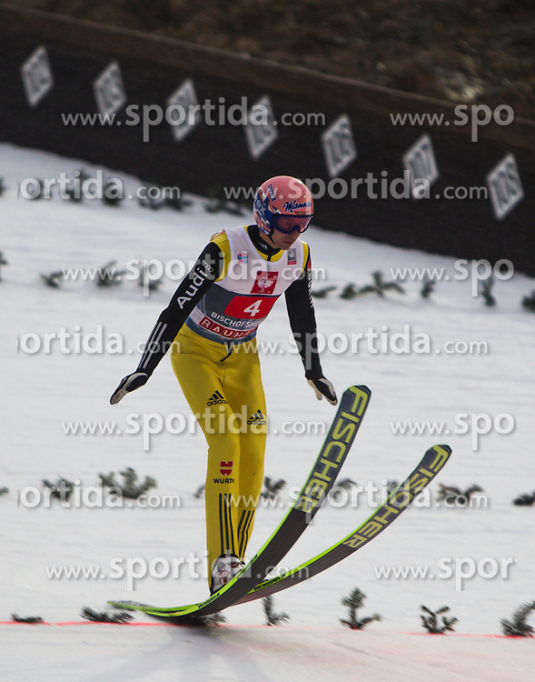 06.01.2013, Paul Ausserleitner Schanze, Bischofshofen, AUT, FIS Ski Sprung Weltcup, 61. Vierschanzentournee, Training, im Bild Michael Neumayer (GER) // Michael Neumayer of Germany during practice Jump of 61th Four Hills Tournament of FIS Ski Jumping World Cup at the Paul Ausserleitner Schanze, Bischofshofen, Austria on 2013/01/06. EXPA Pictures © 2012, PhotoCredit: EXPA/ Juergen Feichter