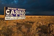 ign in field for Indian Casino near Susanville, Lassen County, California