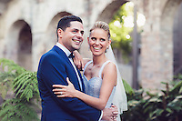 Bride and Groom Liana and Josh at the Paddington Reservoir Gardens, Sydney, Australia.<br />