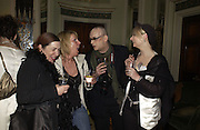 Lady Vivien and Boy George. Philip Sallon and Bruce Fielding Joint birthday party. Home House. London. 12  November 2005 . ONE TIME USE ONLY - DO NOT ARCHIVE © Copyright Photograph by Dafydd Jones 66 Stockwell Park Rd. London SW9 0DA Tel 020 7733 0108 www.dafjones.com