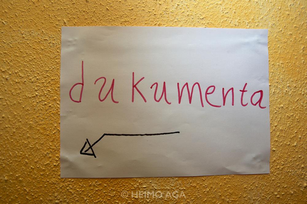documenta12. Kulturzentrum Schlachthof.
