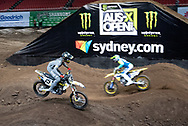 SYDNEY, NSW - NOVEMBER 09: Dean Wilson (15) during the 2018 AUS-X Open Supercross media day at Qudos Bank Arena in Sydney, Australia on November 09, 2018. (Photo by Speed Media/Icon Sportswire)