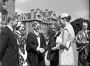 Degree Day at Trinity College Dublin.05/07/1955