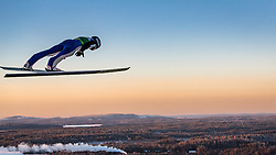 25.11.2016, Nordic Arena, Ruka, FIN, FIS Weltcup Nordische Kombination, Nordic Opening, Kuusamo, Skisprung, im Bild Tim Hug (SUI) // Tim Hug (SUI) during Skijumping of FIS Nordic Combined World Cup of the Nordic Opening at the Nordic Arena in Ruka, Finland on 2016/11/25. EXPA Pictures © 2016, PhotoCredit: EXPA/ JFK