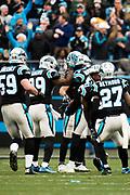 December 17, 2017: Carolina Panthers vs the Greenbay Packers. James Bradberry
