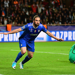 03,05,2017 Uefa Champions League match, semi final first leg, between As Monaco and Juventus FC