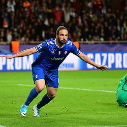 03,05,2017 Uefa Champions League match, semi final first leg, between As Monaco and Juventus FC