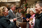 BEVERLEY POND-JONES; MARTIN CLUNES; HONOR BLACKMAN; OMEI RICHES, Reception after Christmas Carol Service in aid of the Haven, Breast Cancer Support Centres. St. Paul's, Knightsbridge. London. 9 December 2010.  -DO NOT ARCHIVE-© Copyright Photograph by Dafydd Jones. 248 Clapham Rd. London SW9 0PZ. Tel 0207 820 0771. www.dafjones.com.