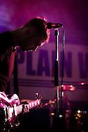 Dave Tirio guitarist and singer for Plain White T's in concert at Yokosuka Japan