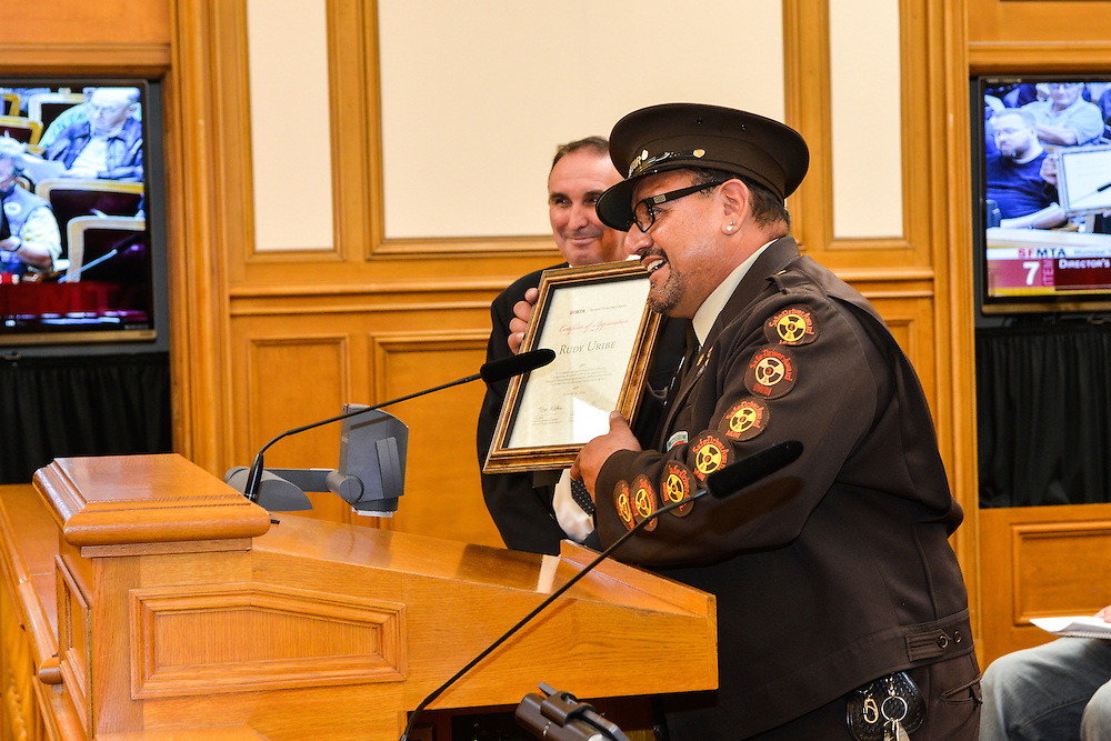 Rudy Uribe, Green Division Operator | Board of Directors Special Award | August 21, 2012