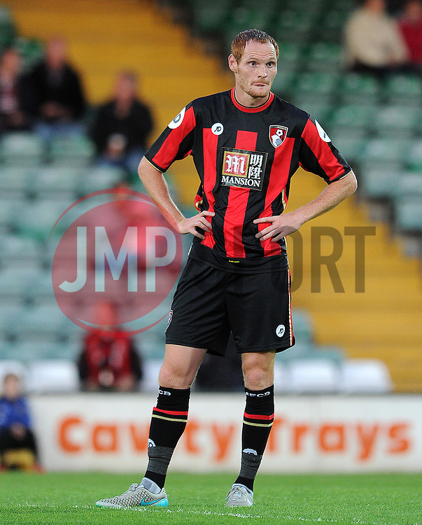 Bournemouth's Andrew MacDonald - Photo mandatory by-line: Harry Trump/JMP - Mobile: 07966 386802 - 28/07/15 - SPORT - FOOTBALL - Pre Season Fixture - Yeovil Town v Bournemouth - Huish Park, Yeovil, England.
