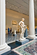 The Greek and Roman Galleries at The Metropolitan Museum of Art, the Met, New York City.