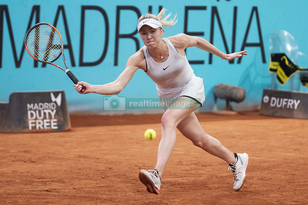 May 8, 2018 - Madrid, Spain - Ukrainian Elina Svitolina during Mutua Madrid Open 2018 at Caja Magica in Madrid, Spain. May 08, 2018. (Credit Image: © Coolmedia/NurPhoto via ZUMA Press)